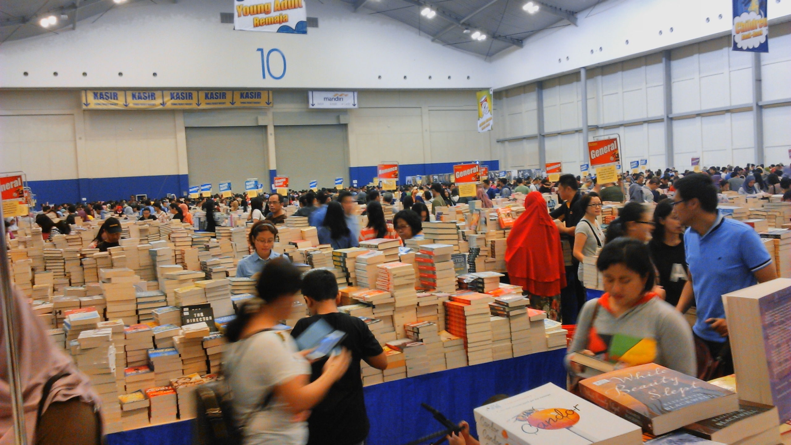 Tips Menikmati Euforia The Big Bad Wolf Book Sale 2016